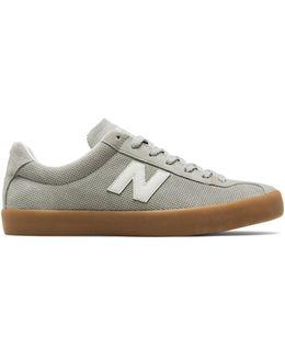 Mens Pindot Suede Sneakers