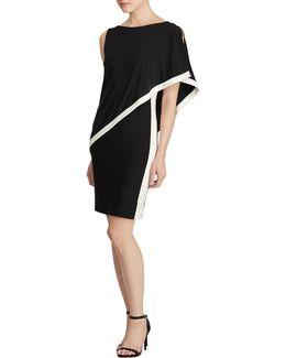 Timna Colourblock Overlay Dress