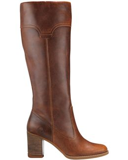Atlantic Heights Pull-on Leather Tall Boots