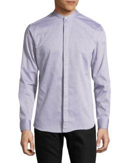 Cotton Long Sleeve Sport Shirt
