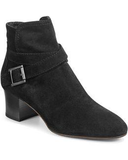 Francique Buckle Ankle Boots