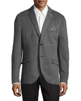Knit Sports Jacket