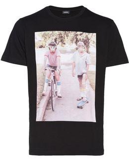 Retro Vibe Cotton T-shirt
