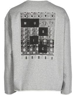 Music Inspired Cotton Sweatshirt