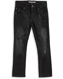 Ultra Rebel Tapered Stretch Jeans
