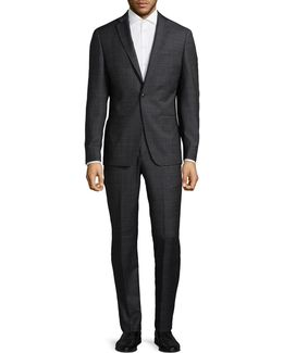 Wool-blend Two-piece Suit