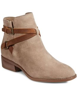 Mehira Leather Ankle Boots