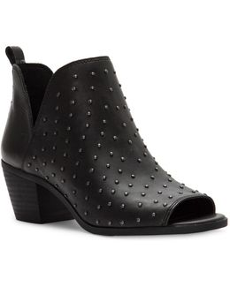 Barlenna Leather Booties