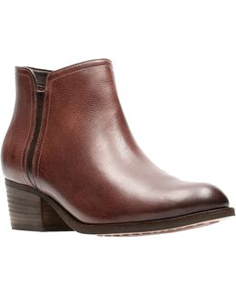 Maypearl Ramie Leather Booties