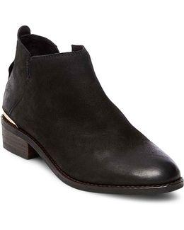 Kesseym Leather Booties