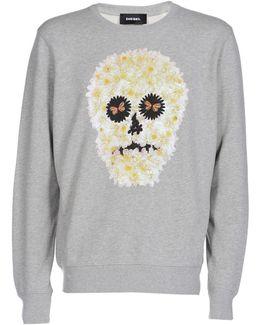 S-joe-qb Floral Sweatshirt