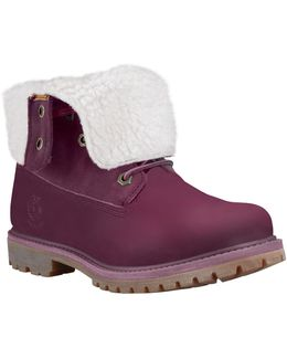 Teddy Fleece Leather Boots