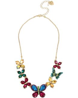 Butterfly Frontal Necklace