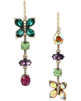 Butterfly Linear Drop Earrings