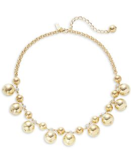 Golden Girl Goldplated Bauble Necklace
