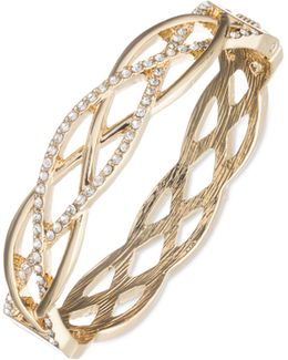 Crystal Weave Bangle