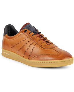 Orlee Leather Brogues