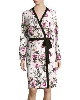 Mid-length Knit Robe