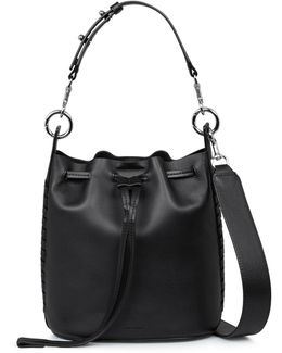 Ray Leather Bucket Bag