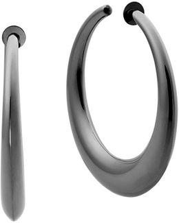 Runway Hoop Earrings