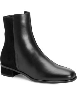 Lucia Leather Booties