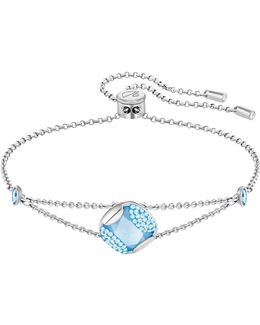 Crystal Heap Cushion Bracelet