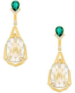 Haven Crystal Drop Earrings