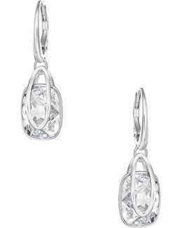 Crystal Holding Earrings