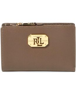 Newbury Leather Compact Wallet