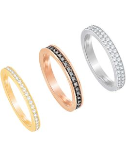 Hint Stacked Band Rings Set