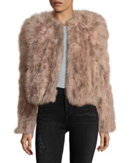 Feather Shrug Jacket