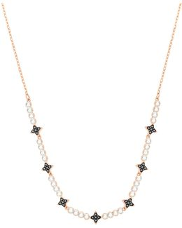 Halve Star Crystal Necklace