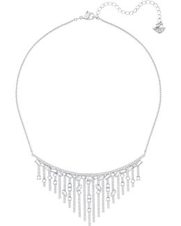Henrietta Pave Frontal Necklace