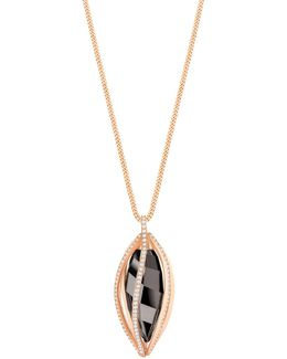 Hailey Pave Pendant Necklace