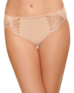Lace Impression High-cut Briefs