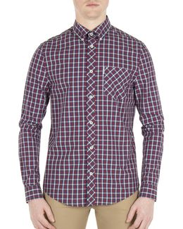 Mod-fit House Check Sport Shirt