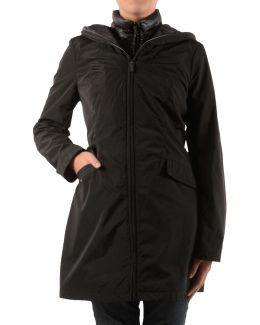 Anorak With Quilted Bib