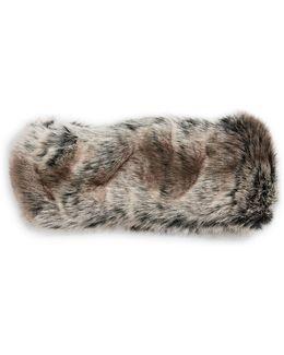 Arctic Leopard Faux Fur Headband