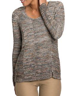 Petite Heathered Sweater