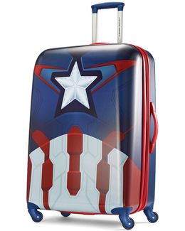 Marvel All Ages 30-inch Captain America Large Spinner Luggage