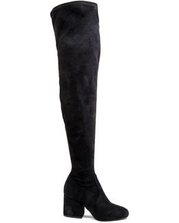 Block Heel Over-the-knee Boots