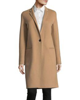 Wool-cashmere Coat