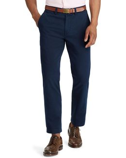 Classic-fit Cotton Chino Pants