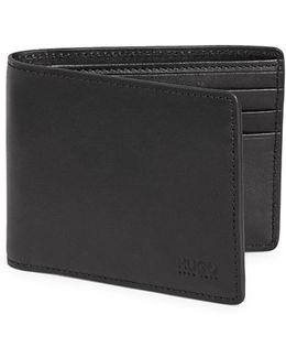 Slim-fold Leather Wallet