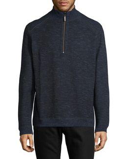 Reversible Cotton-blend Sweatshirt