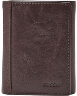 Neel Trifold Leather Wallet
