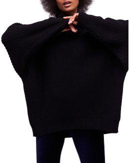 Swim Too Deep Batwing Pullover