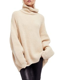 Swim Too Deep Batwing Pullover