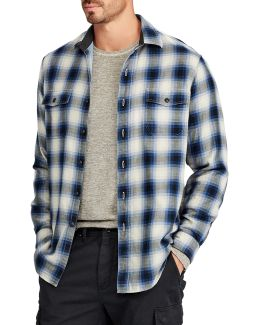 Big And Tall Flannel Sport Shirt
