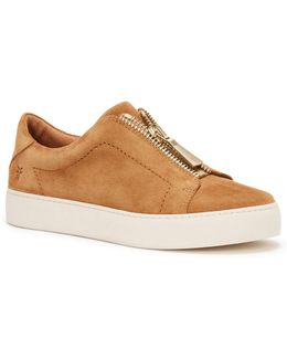 Lena Leather Low Top Sneakers